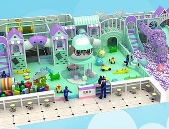 100㎡新款淘气堡乐园