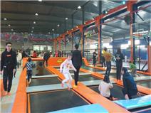 阳新小玩家蹦床主题公园案例