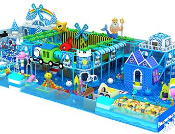 蓝色海洋系列淘气堡