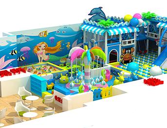 幼儿园海洋系列淘气堡