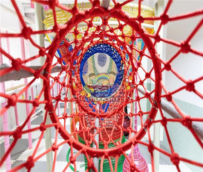 室内彩虹绳网