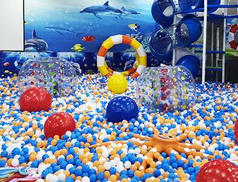 室内大型海洋球乐园