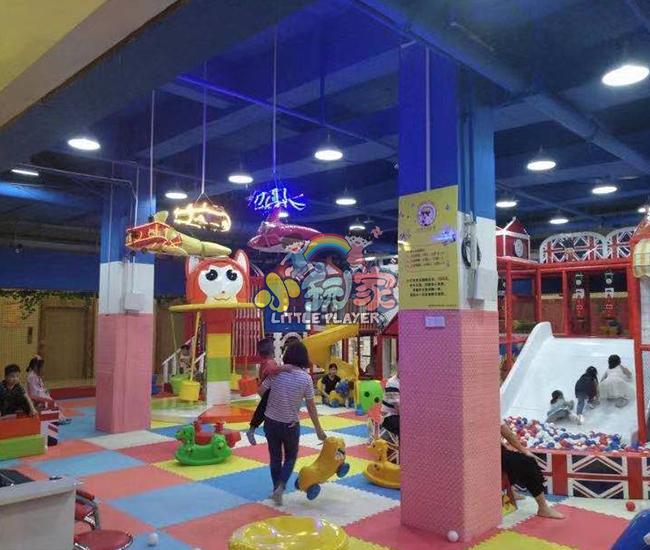 河南郑州淘气堡门店