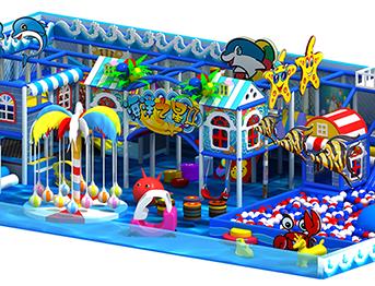 商场儿童海洋系列淘气堡